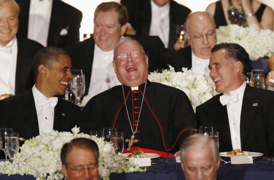 Rinkimų į JAV prezidento postą metu tradiciškai rengiama Al Smith vakarienė.
