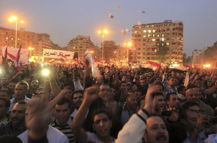 Demonstracijos Kaire