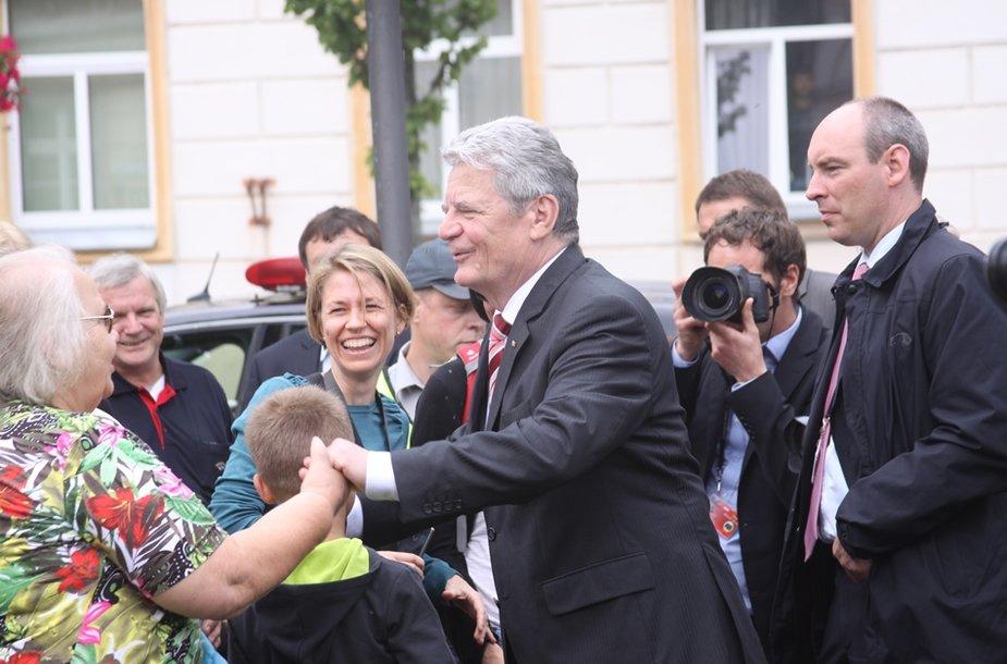 Joachimo Gaucko viešnagė Klaipėdoje