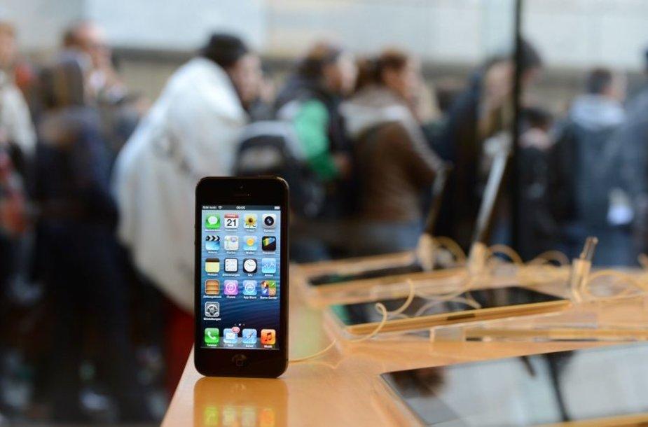 "Pirmoji ""iPhone 5"" prekybos diena, Miunchenas"