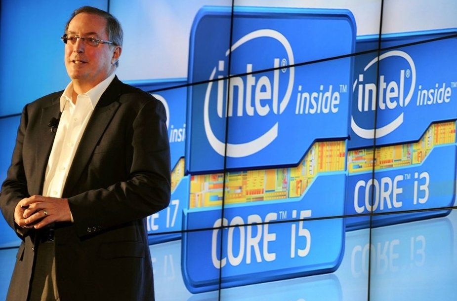 """Intel"" vadovas Paulas Otellini"