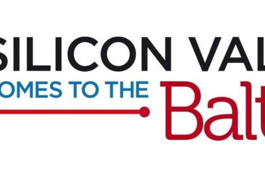 """Silicon Valley Comes to the Baltics"" logotipas"