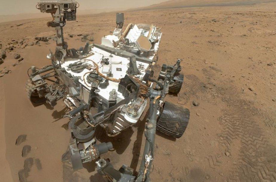 """Marsaeigis """"Curiosity""""."""