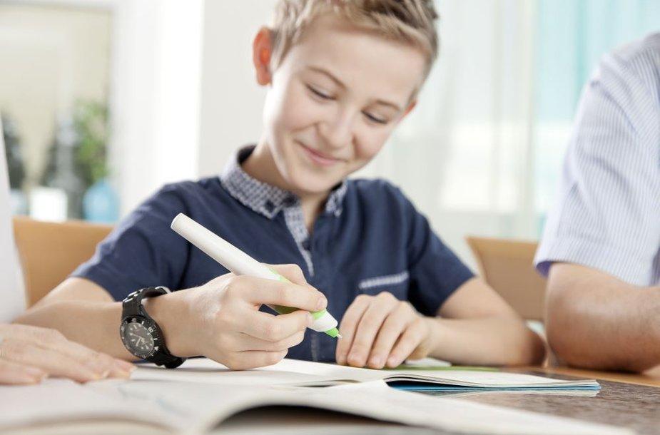 Klaidas taisantis išmanusis rašiklis