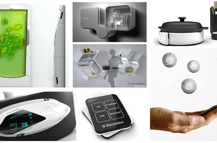 """Mažoms erdvėms tinkančių prietaisų idėjos jau ne vienerius gimsta ir tarptautinio koncepcinių buitinių prietaisų """"Electrolux Design Lab"""" dalyviams – dizaino studentams iš įvairių šalių."""