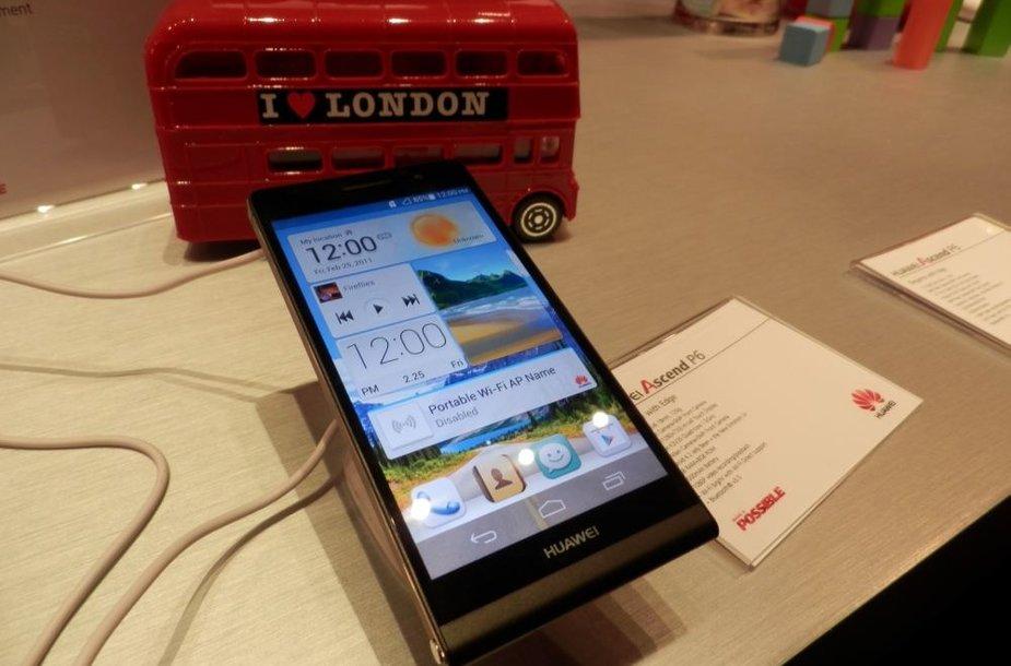 "Telefonas ""Huawei Ascend P6"""