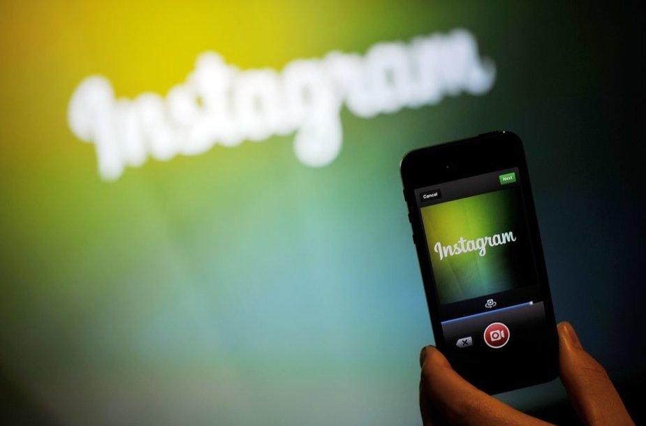 """""""Instagram"""" vartotojai jau gali dalintis ir vaizdo įrašais"""