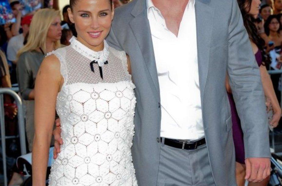 Chrisas Hemsworthas ir Elsa Pataky