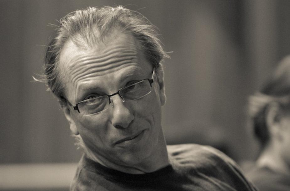 Baleto trupės meno vadovas Krzysztofas Pastoras