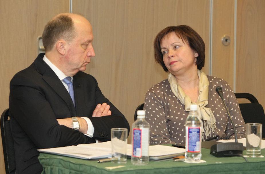Andrius Kubilius ir Rasa Juknevičienė
