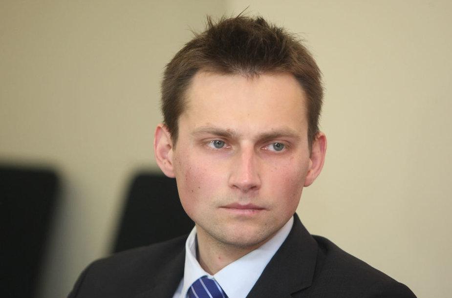 Lietuvos alpinizmo asociacijos prezidentas Saulius Damulevičius