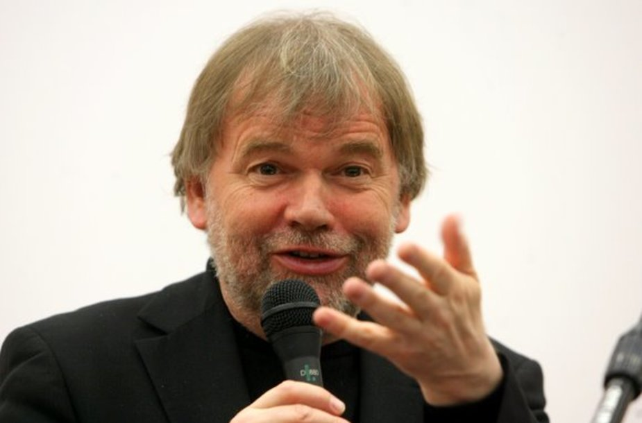 Rašytojas Josteinas Gaarderis