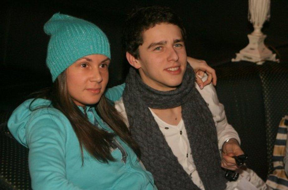 Donatas Montvydas ir Veronika Brasaitė