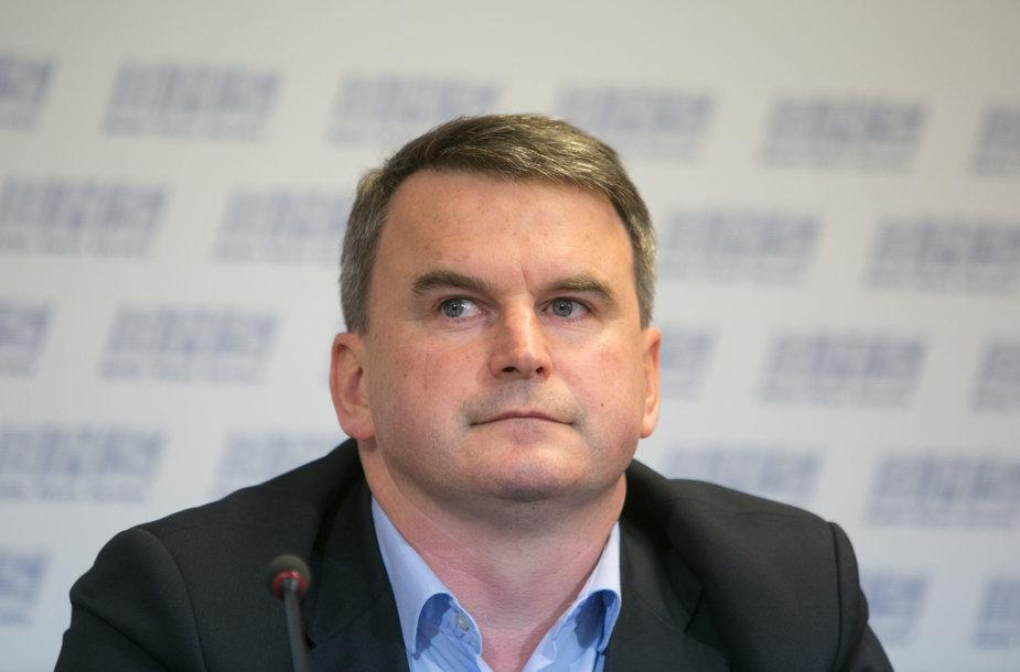 """Bendrovės """"Nota Bene"""" direktorius Andrius Jazgevičius"""