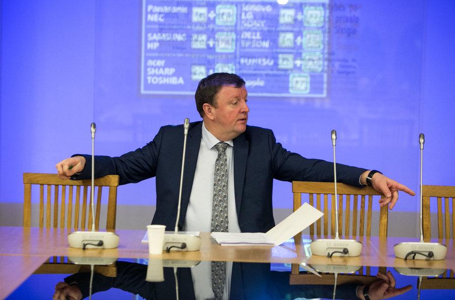 Vitalijus Gailius laukia atikorupcijos komisijos posėdžio