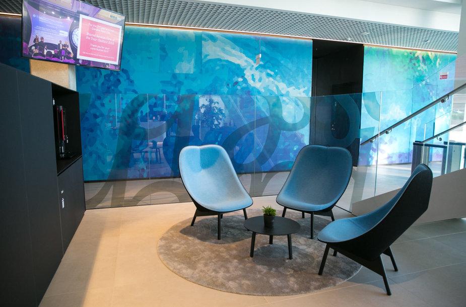 """""""Danske Bank"""" Globalių paslaugų centro biuras."""