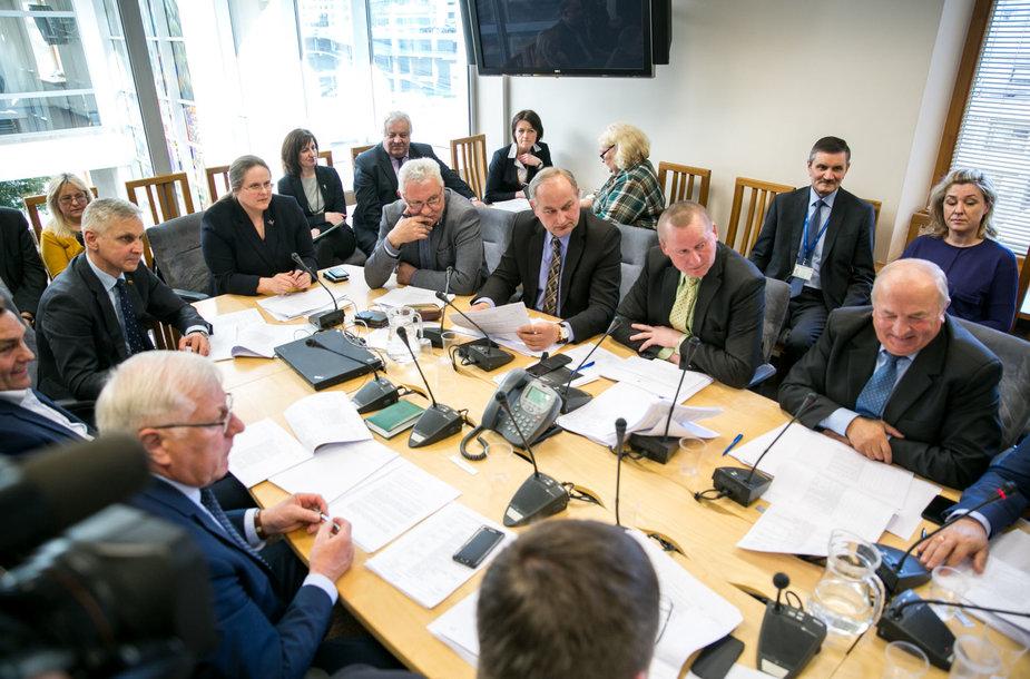 Kaimo reikalų komiteto posėdis