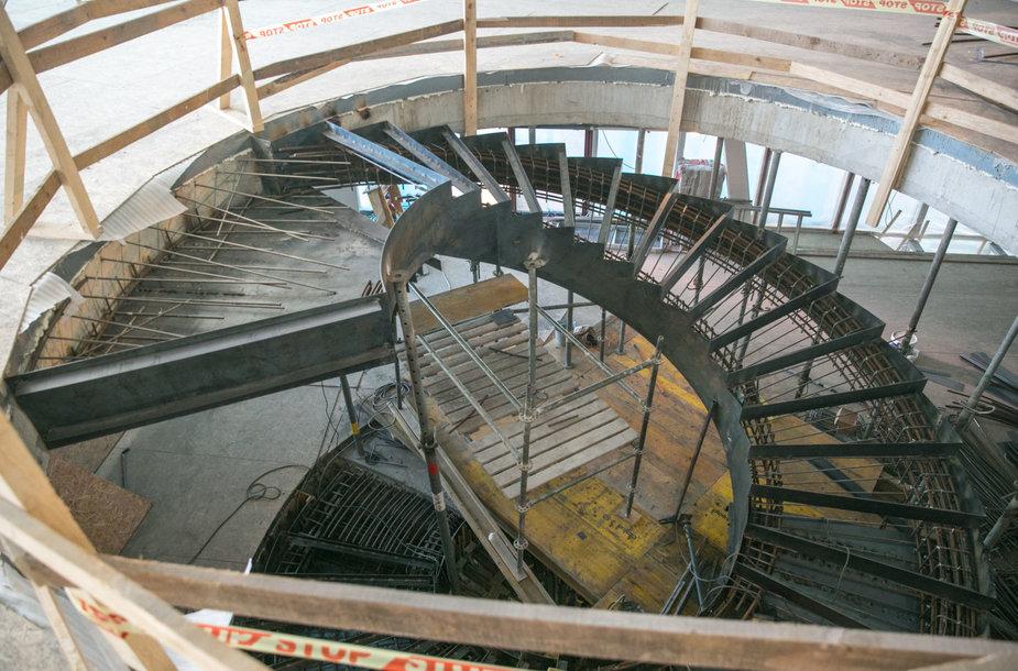 Baigiamas statyti MO muziejus