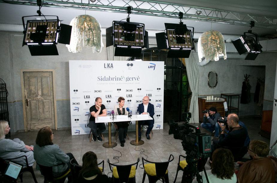 """Lietuvos kino apdovanojimų """"Sidabrinė gervė"""" nominantų paskelbimas"""