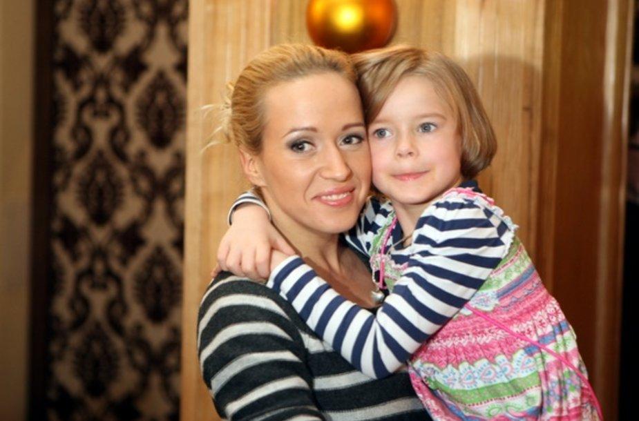 Elena Puidokaite-Atlanta su dukra Saule
