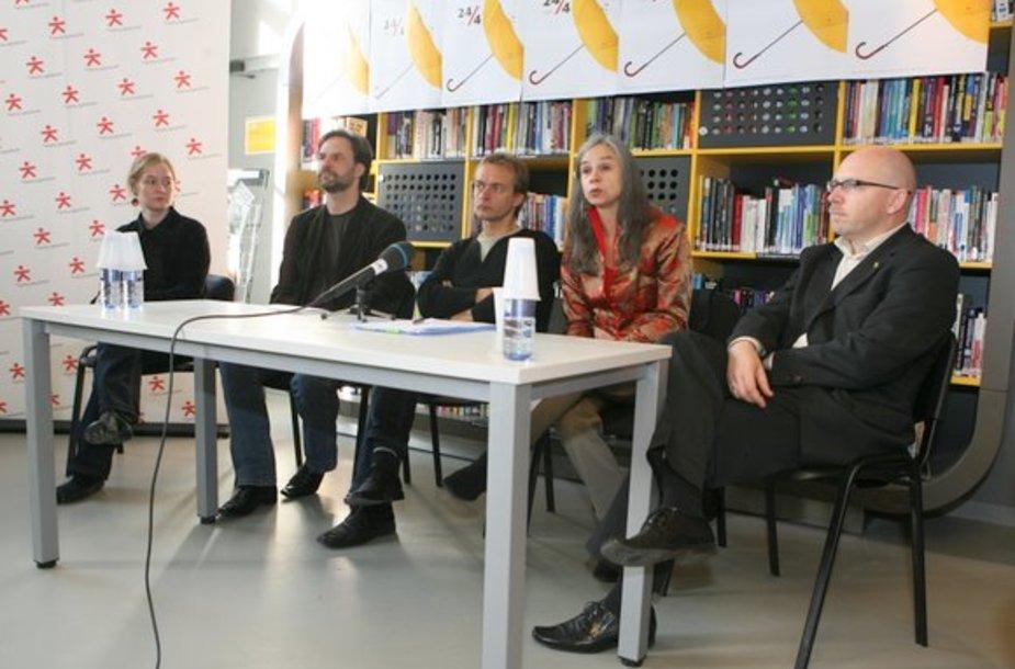 IETM susitikimo spaudos konferencija