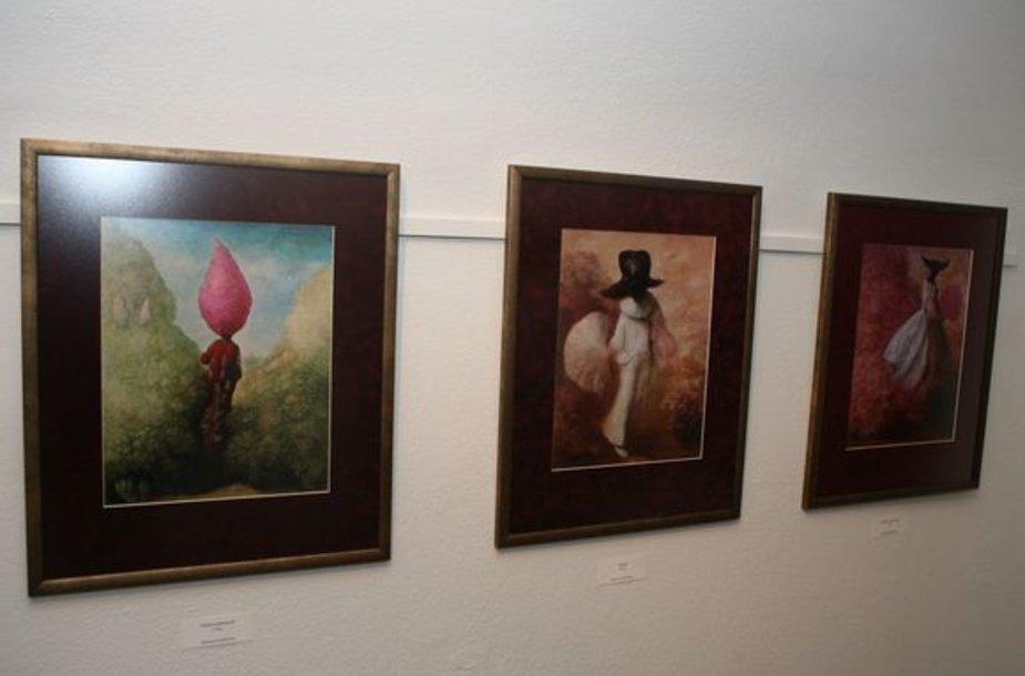 Vilniaus centre, gotikiniame raudonų plytų name duris atvėrė nauja meno galerija.