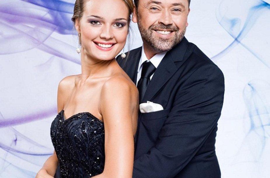 Jurgita Jurkutė ir Vytautas Šapranauskas