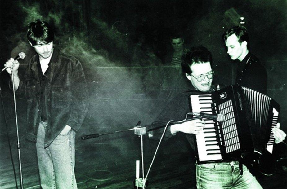 """""""Šiaurės kryptis"""" (iš kairės): K. Vildžiūnas A.Lukošius, Z.Butautis"""