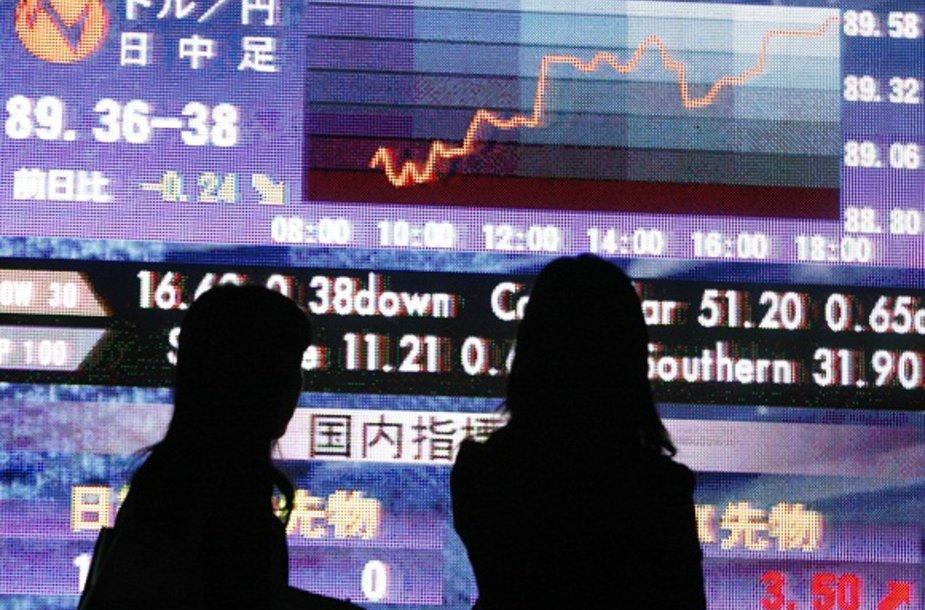 Japonija pasiryžusi atsikratyti visomis skolomis