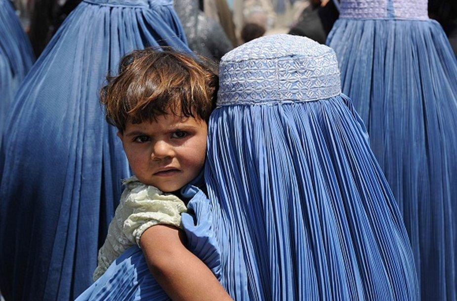 Moters gyvenimas Afganistane
