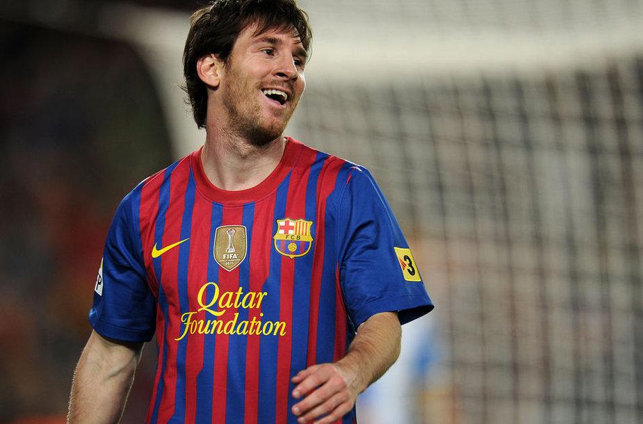 Lionelis Messi šį sezoną Ispanijos futbolo čempionate pelnė net 50 įvarčių.