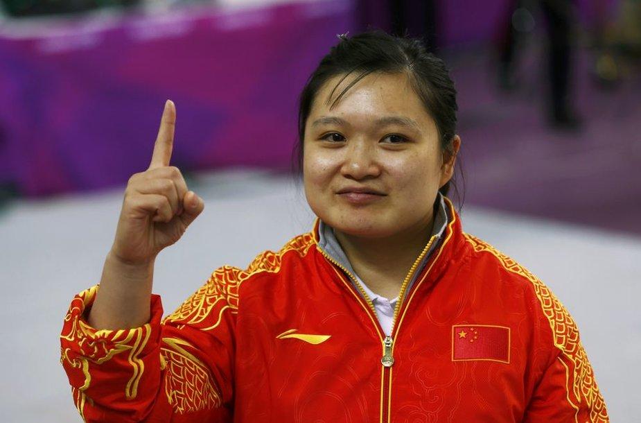 Olimpinė čempionė Wenjun Guo