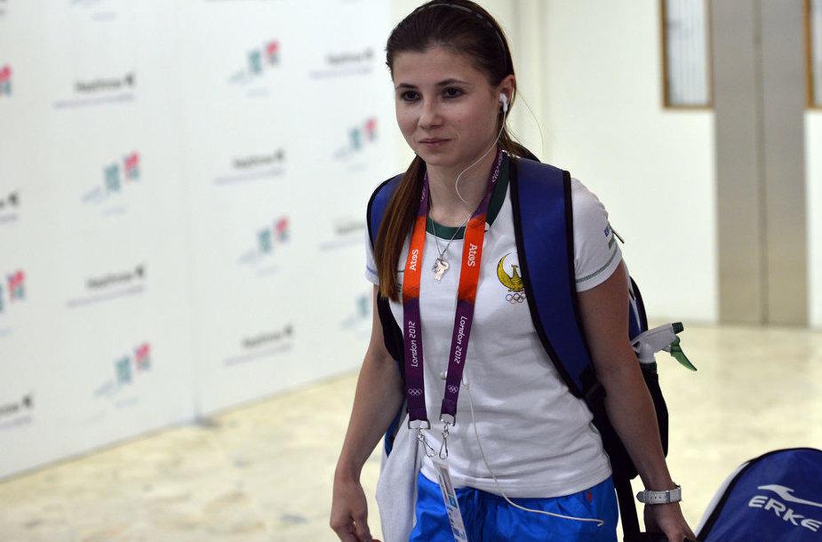 Luiza Galiulina buvo nušalinta nuo varžybų.