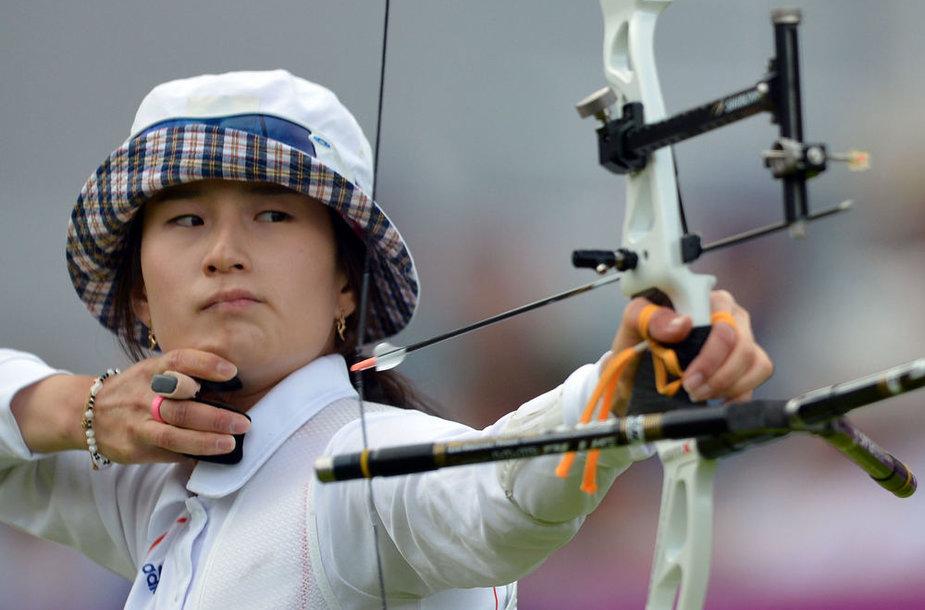 Olimpinė čempionė Ki Bo Bae