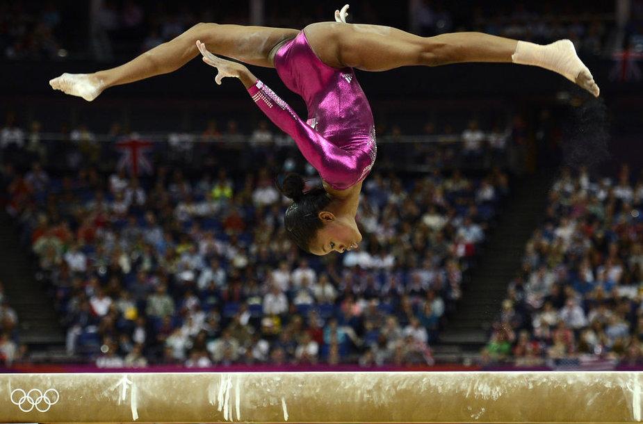 Olimpinė čempionė Gabrielle Douglas