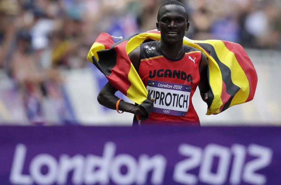 Olimpinis maratono bėgimo čempionas Stephenas Kiprotichas