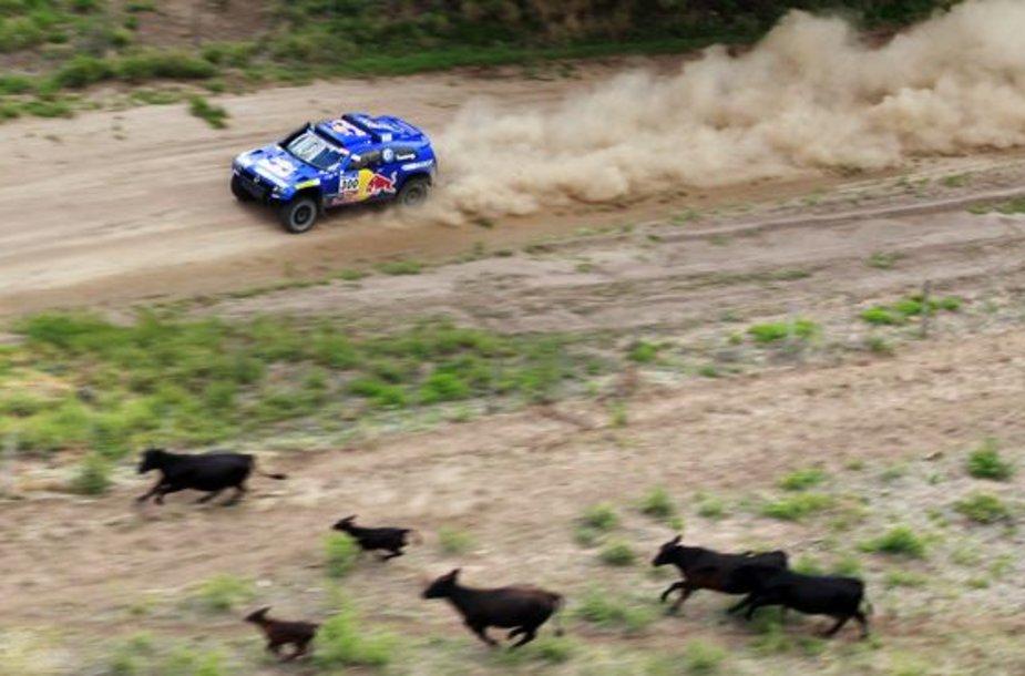 Antrasis Dakaro ralio etapas