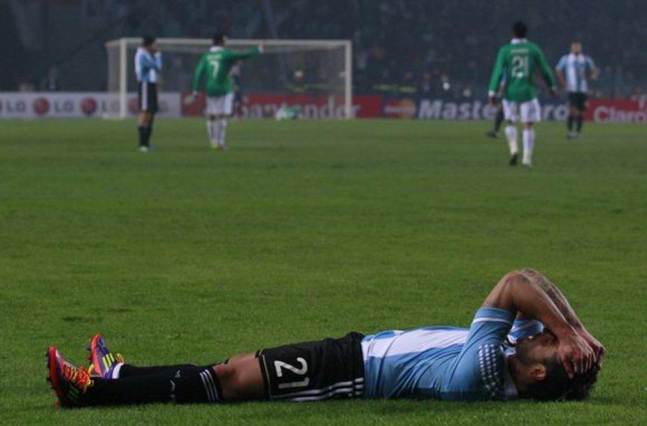 Argentiniečių nusivylimas
