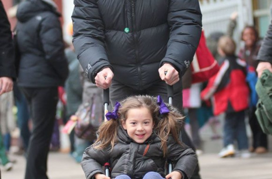Hughas Jackmanas su dukra