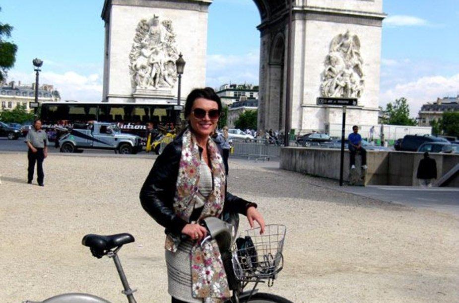 Agnė Zacharevičienė Paryžiuje