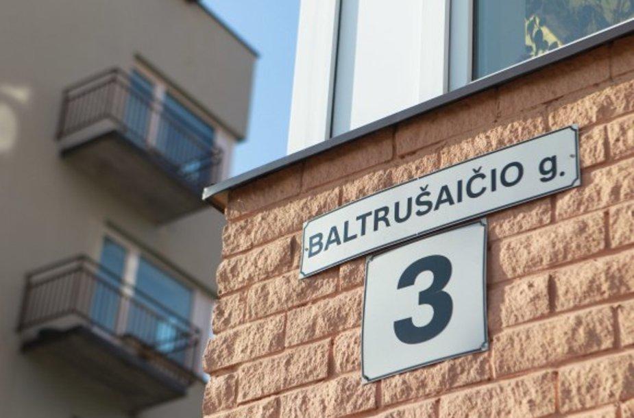 Vyriškais asmenvardžiais pavadintų gatvių Vilniuje šešiskart daugiau nei moteriškais.