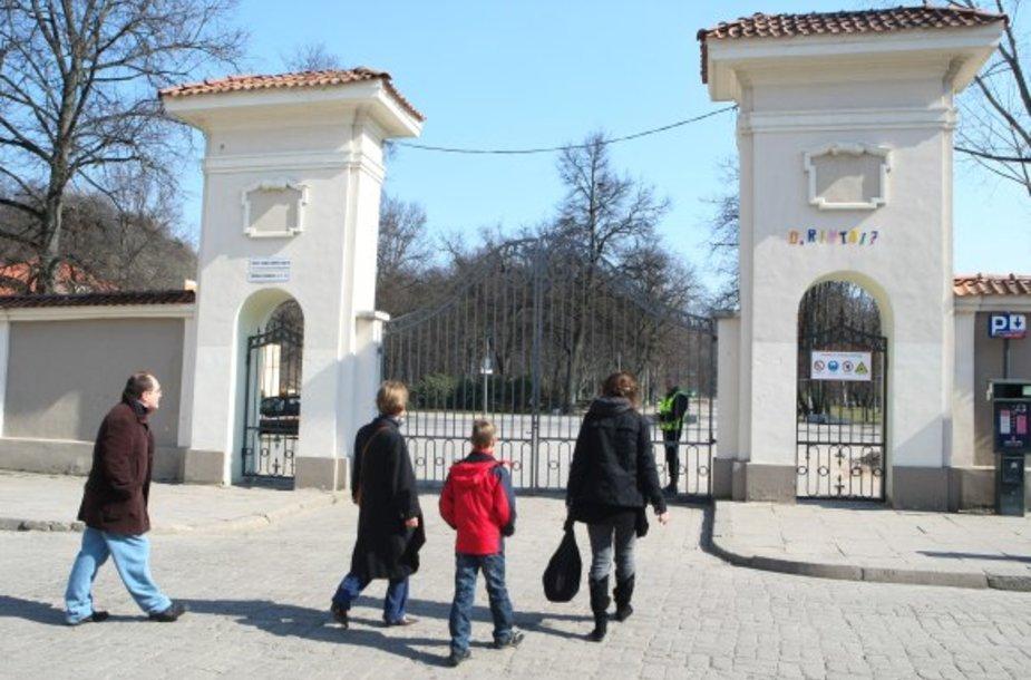Bernardinų sodas lankytojams bus uždarytas lygiai metus – iki kito pavasario.