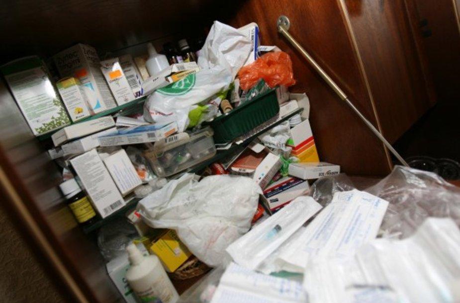 Lazdyniečiai sukilo prie planus statyti naują vaistų naikinimo įrenginį.