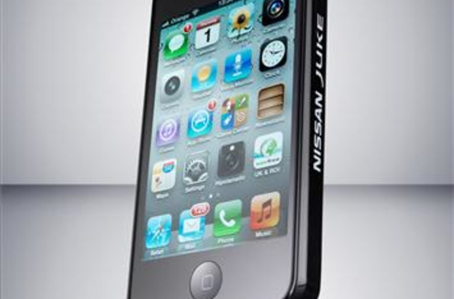 """Nissan Scratch Shield iPhone"" dėklas"