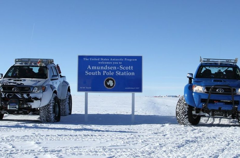 """Toyota Hilux"" žygis į Antarktidą"