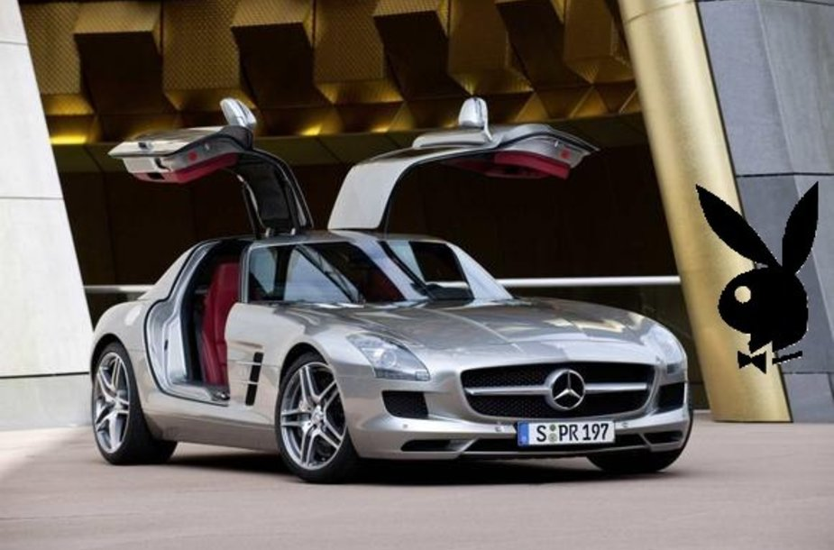 """""""Mercedes-Benz SLS AMG"""" - """"Playboy"""" metų automobilis"""
