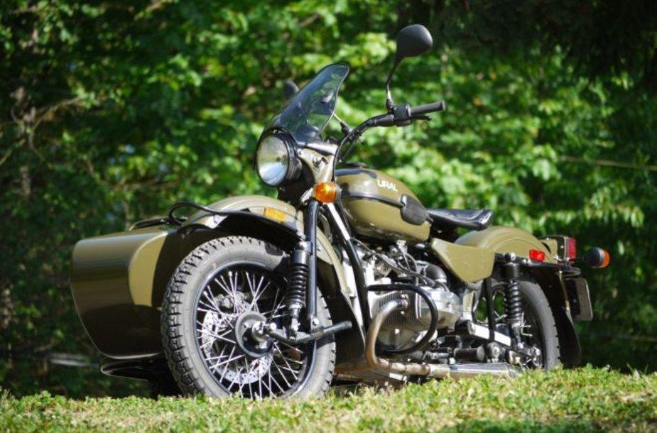 """""""URAL Patrol T"""" motociklas"""