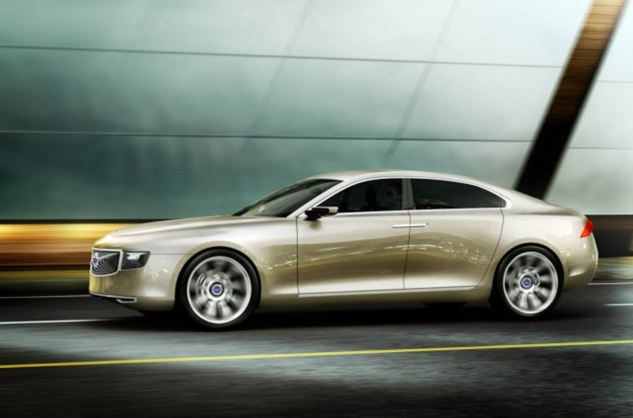 """""""Volvo Concept Universe"""" - užuomina į kompanijos flagmaną"""