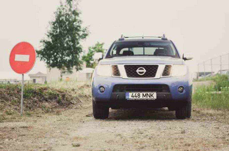 """""""Nissan Navara"""" – nieko nebijantis"""