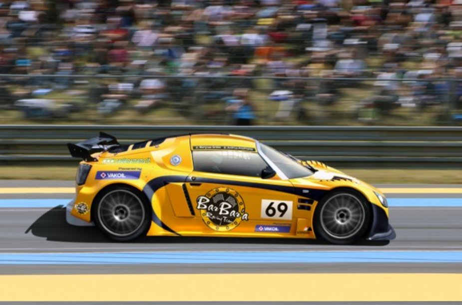 """BarBar'a Racing Team"" automobilis ""Lotus 116"""
